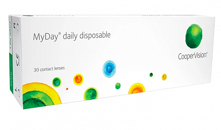 CooperVision MyDay daily disposable (30 линз)
